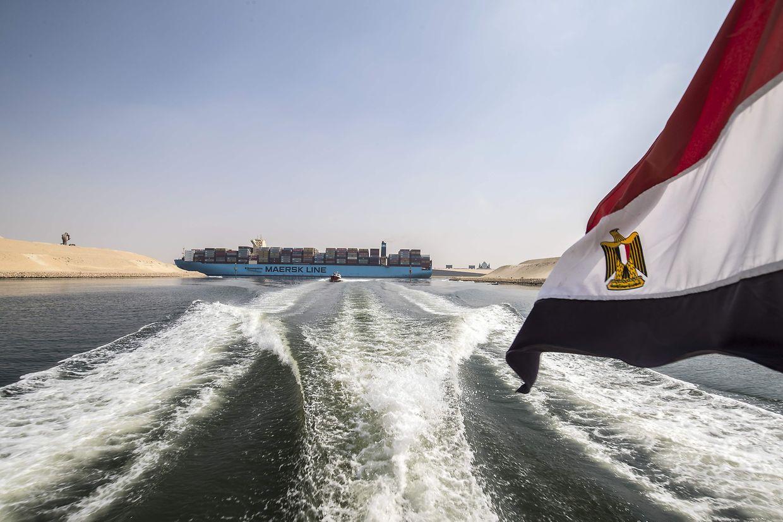 150 Jahre bewegte Geschichte: 50 Handelsschiffe nutzen täglich den Suez-Kanal.