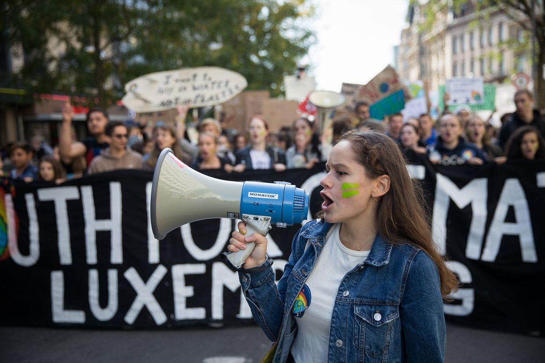Le 20 septembre 2019, des milliers de personnes avait défilé dans les rues pour demander des actes contre les émissions de gaz à effet de serre.
