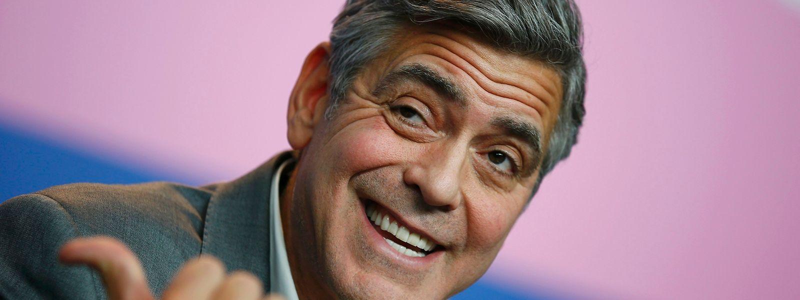 George Clooney hatte sich bereits für Barack Obama eingesetzt und unterstützt nun Hillary Clinton.