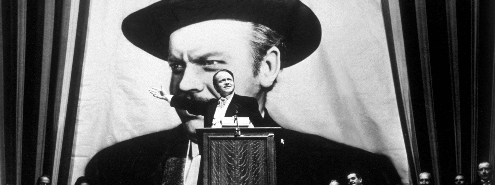 """Aufstieg und Fall eines Machtmenschen: Orson Welles in der Hauptrolle seines Films """"Citizen Kane"""", der 2011 zum besten US-amerikanischen Film aller Zeiten gewählt wurde."""