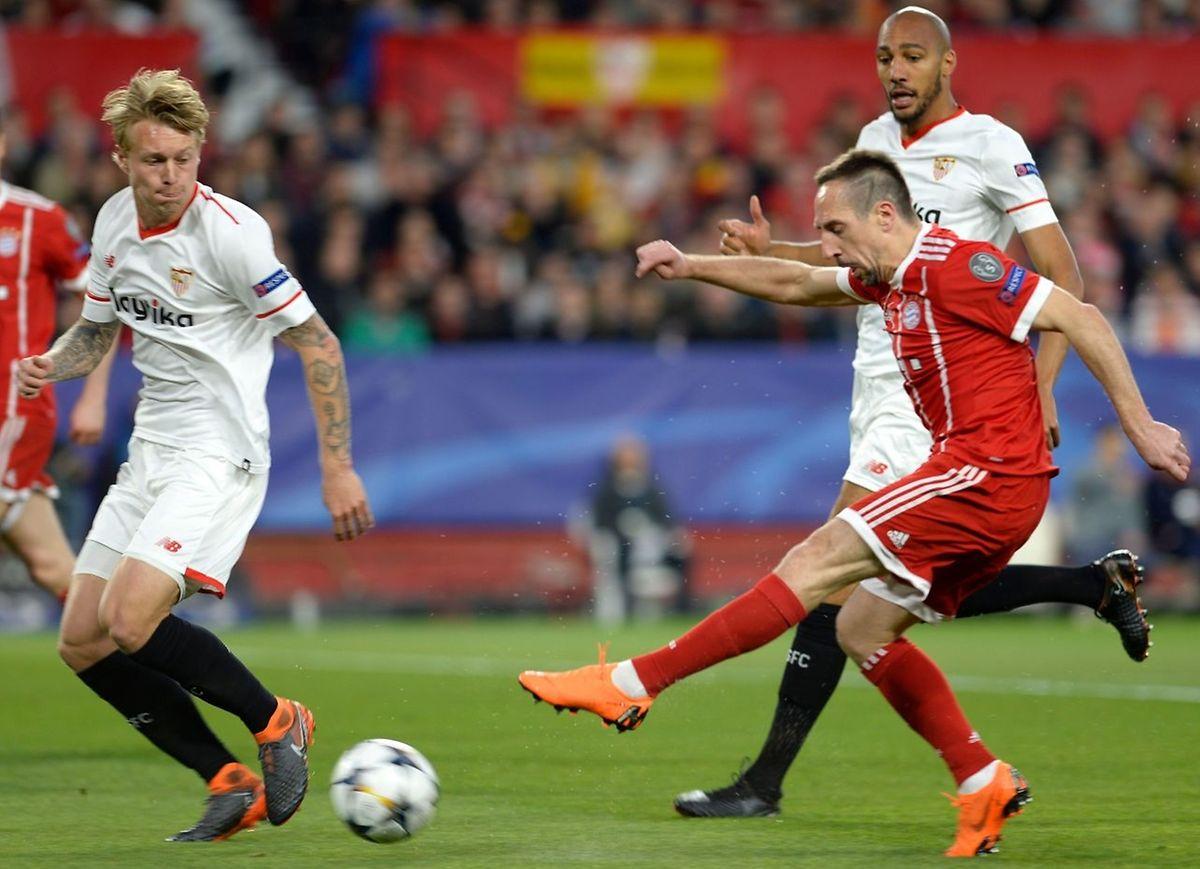 Franck Ribéry a retrouvé toute sa verve pour ouvrir le chemin des demies au Bayern.