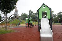 Lokales, Spielplatz, Spielplätze, Eröffnung nach  Covid-Zeiten, Foto: Anouk Antony/Luxemburger Wort