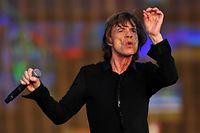 Vaterfreuden im hohen Alter: Mick Jagger.