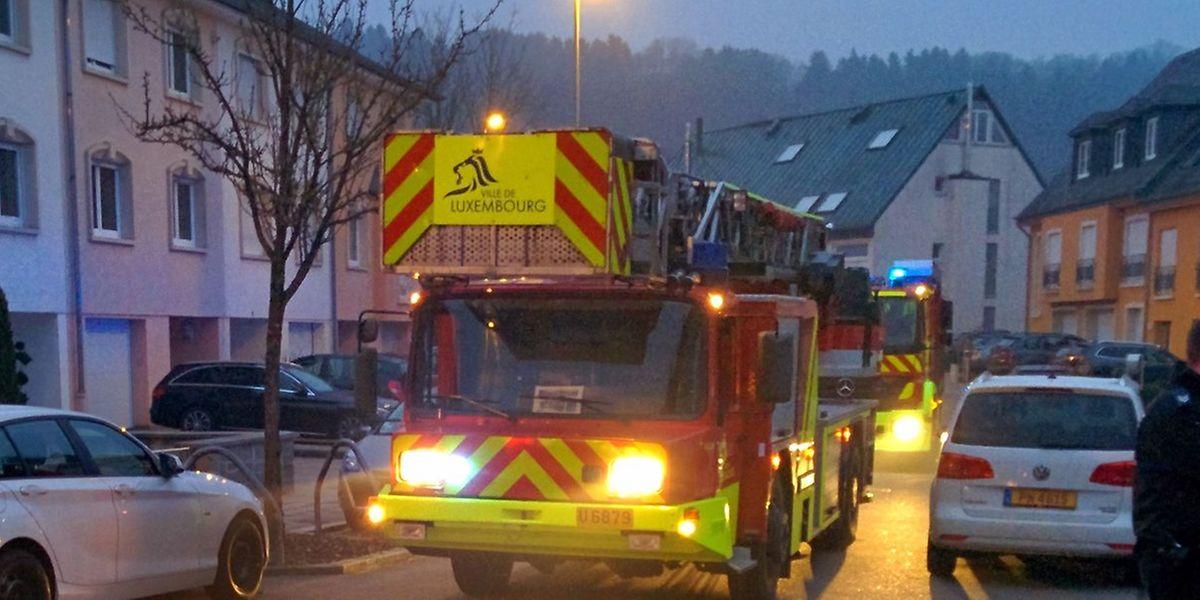 Bei dem Einsatz in Dommeldingen musste eine Person ins Krankenhaus transportiert werden.
