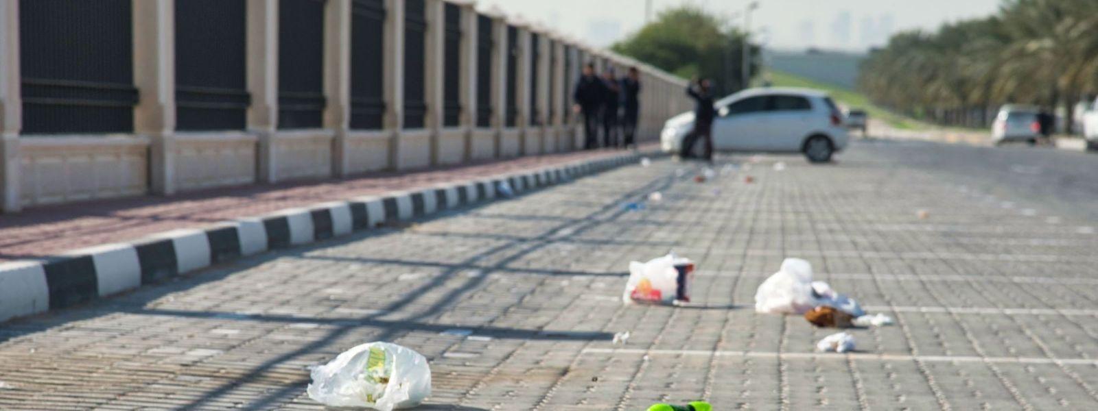 Le nettoyage des déchets laissés dans la nature coûterait 2,4 millions d'euros par an, selon le gouvernement.