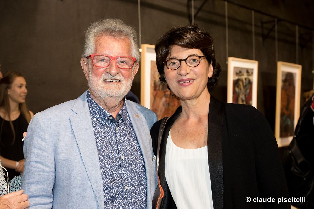 """vernissage Expo """"To day as well as yesterday"""" - Arthur Unger Espace H2O - Differdange - 15.06.2017 © claude piscitelli"""
