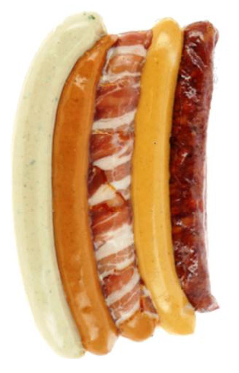 Assortiment saucisses Barbecue 5 pièces