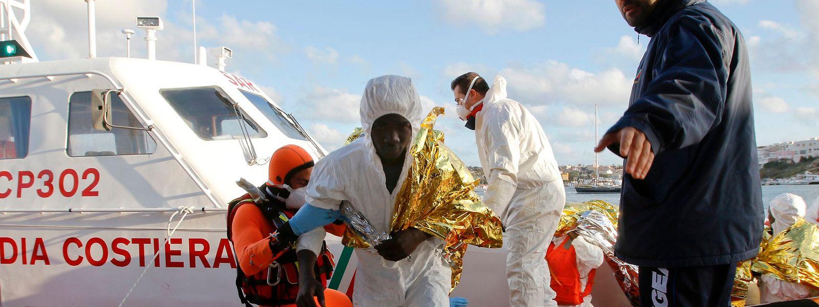 Seit Jahresbeginn haben mehr als 85.000 Gerettete die italienischen Küsten erreicht.