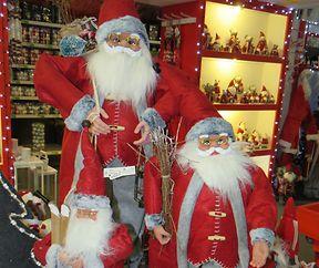 Weihnachtsdeko in Hülle und Fülle