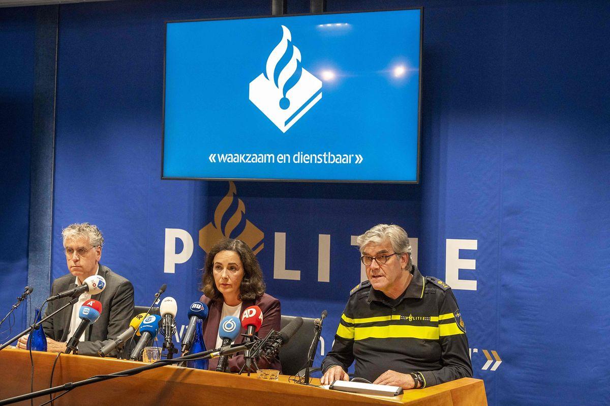 Femke Halsema, Bürgermeisterin von Amsterdam, bei einer Pressekonferenz nach dem Anschlag.
