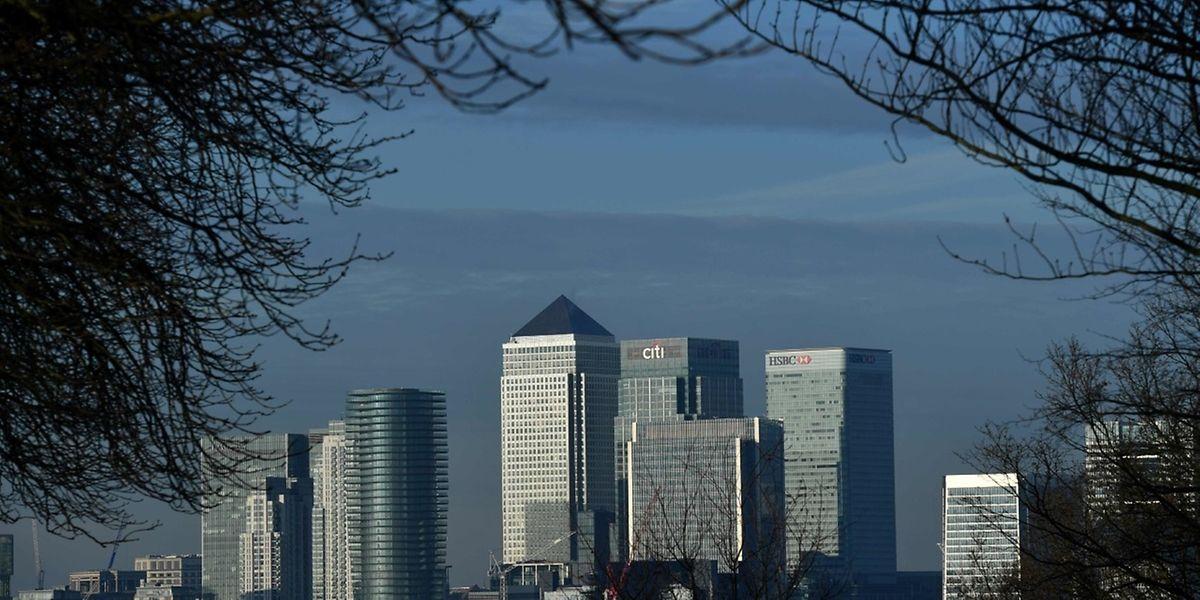 Die Großbanken planen bereits ihre Präsenz in der City zu reduzieren.