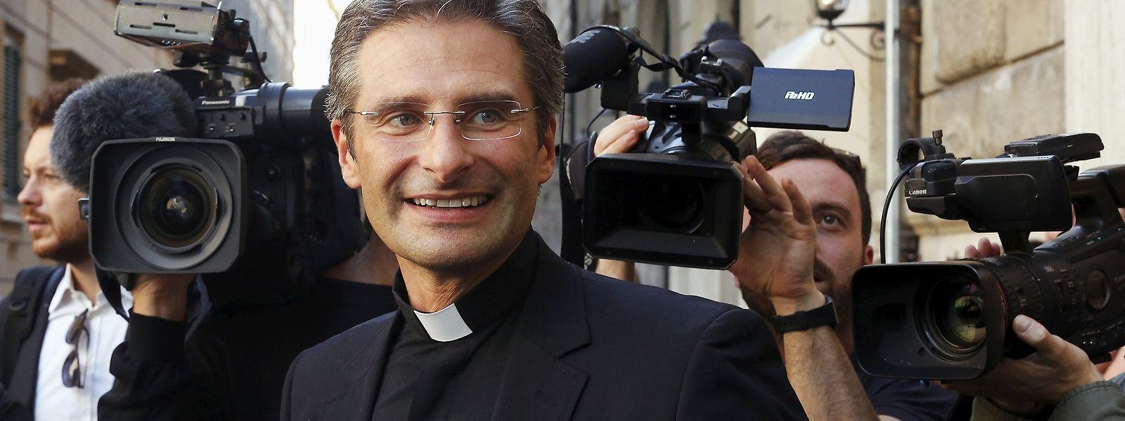 Krzysztof Charamsa arbeitete seit 2003 in der Glaubenskongregation.
