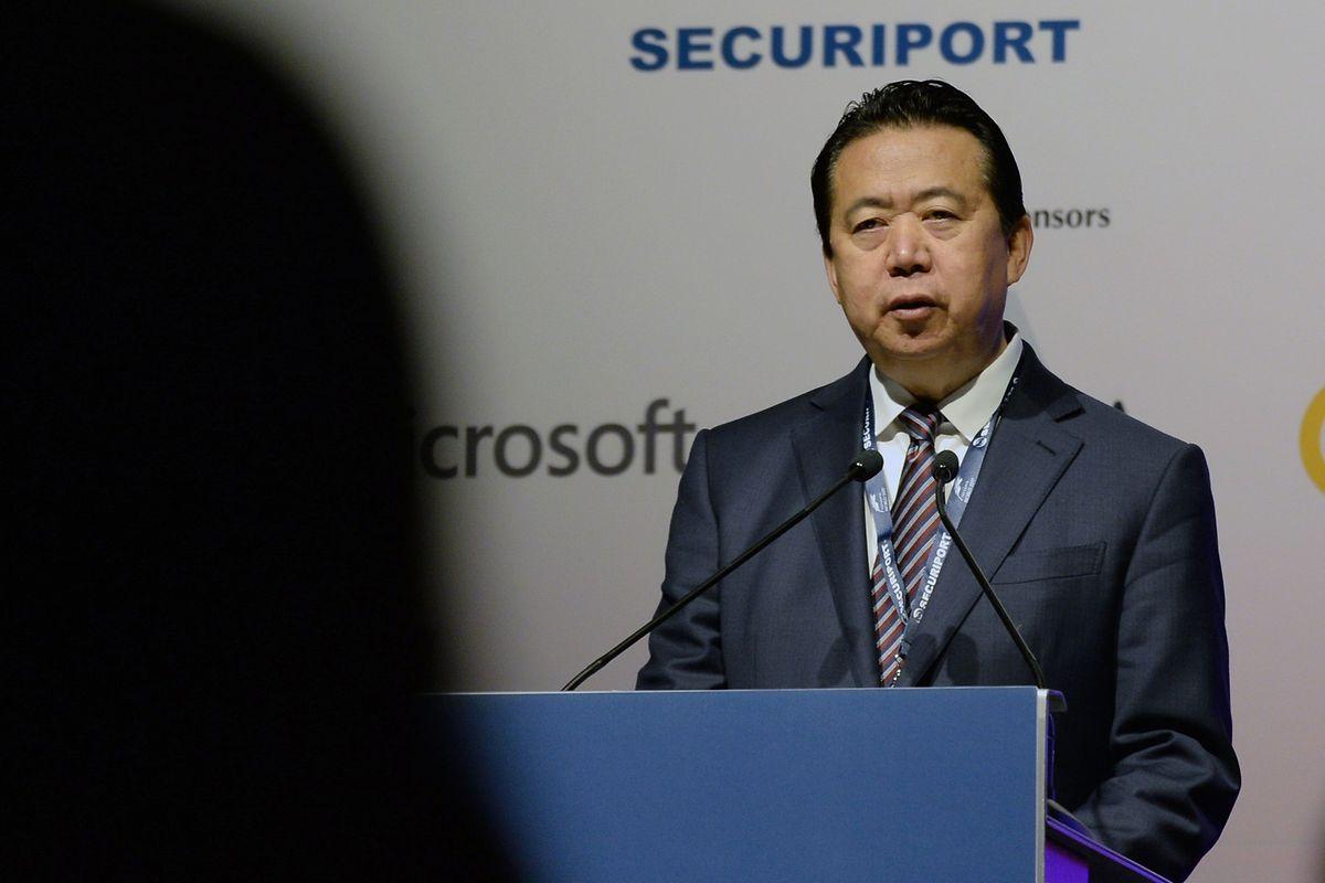Der ehemalige Interpol-Chef Meng Hongwei ist bereits seit Herbst 2018 in Gewahrsam, erst jetzt hat China einen offiziellen Haftbefehl erlassen.