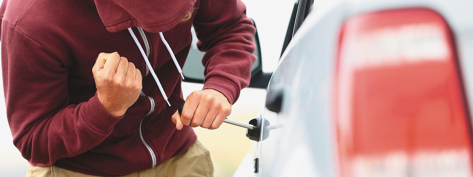 In der Statistik werden auch die versuchten Einbrüche in Fahrzeuge berücksichtigt.