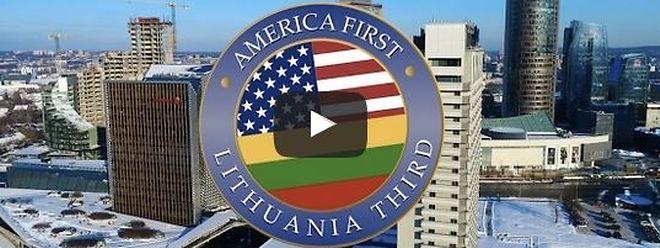 Halb Europa buhlt parodistisch um Platz zwei hinter Amerika. Litauen möchte lieber das Spiel um Platz drei gewinnen.