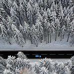 Vídeo. Já há neve a cair em França