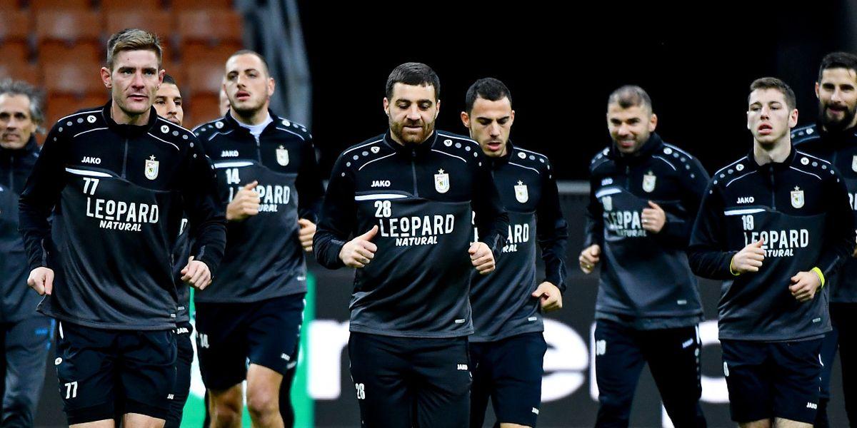 Les Dudelangeois ont foulé la pelouse de San Siro mercredi soir et sont prêts à affronter le Milan.