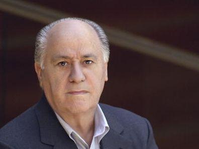 O dono da Inditex, Amancio Ortega, é um dos homens mais ricos do mundo