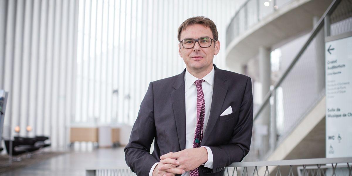 Stephan Gehmacher: «La prolongation du contrat du chef d'orchestre de l'OPL Gustavo Gimeno a été déterminante pour moi».