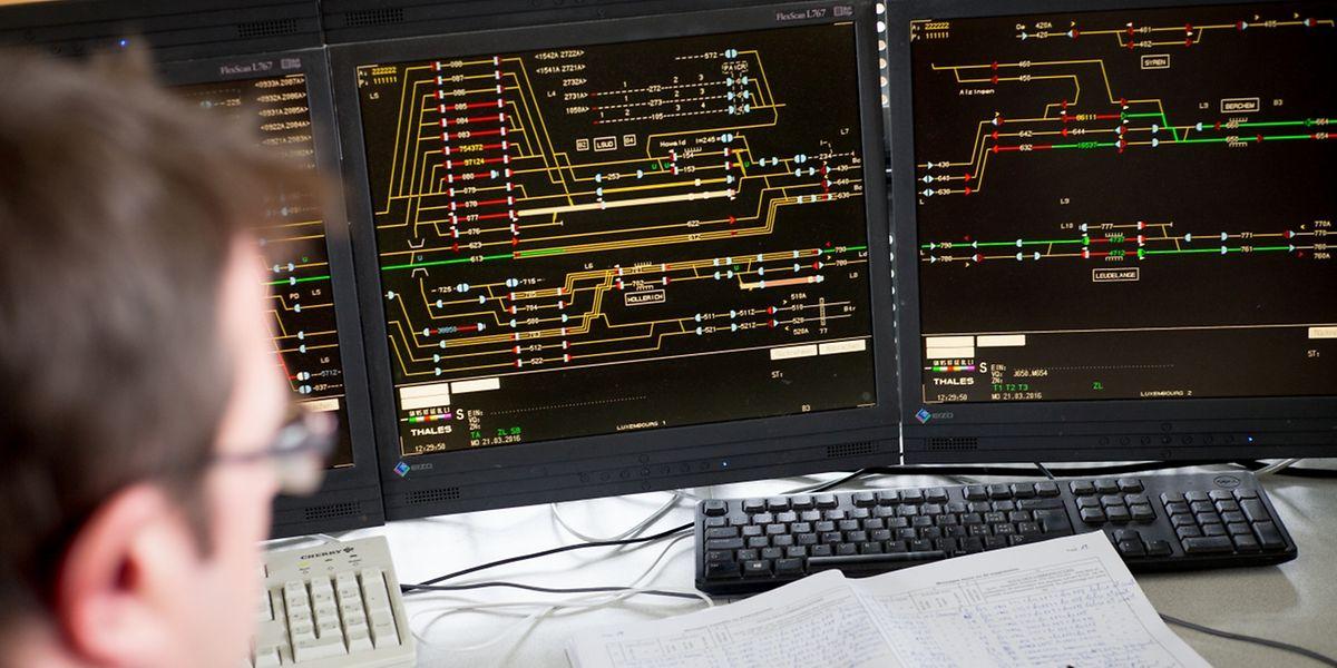 Ein ausgeklügeltes Leitsystem soll den Zugverkehr in Luxemburg absichern.