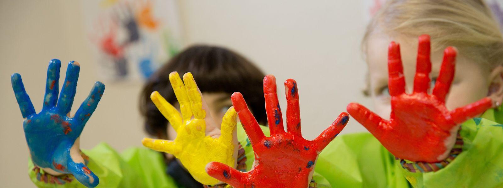 Kinder, die am multilingualen Förderprogramm in den Kindertagesstätten teilnehmen, haben ein Anrecht auf 20 Gratis-Betreuungsstunden.