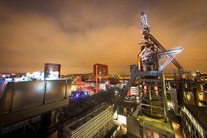 visites nocturnes hauts fourneaux Belval - 02.05.2015 - © claude piscitelli
