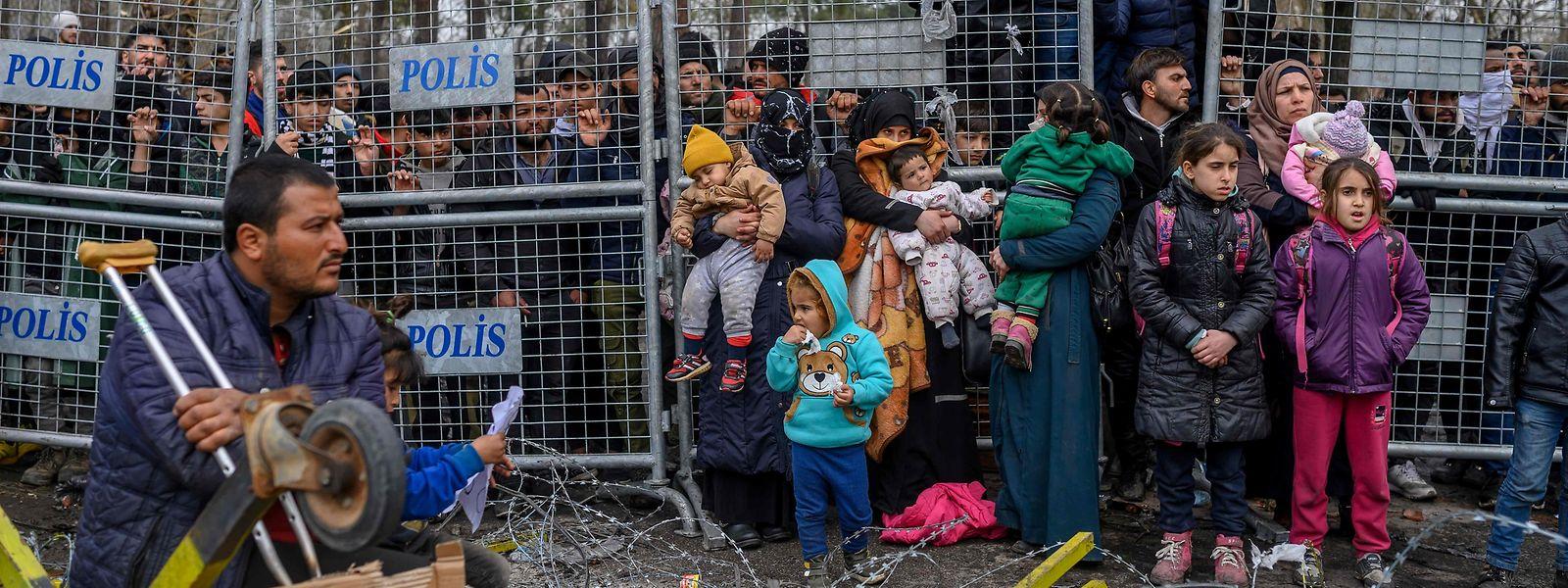Die Türkei hat 3,6 Millionen Menschen auf der Flucht aufgenommen.