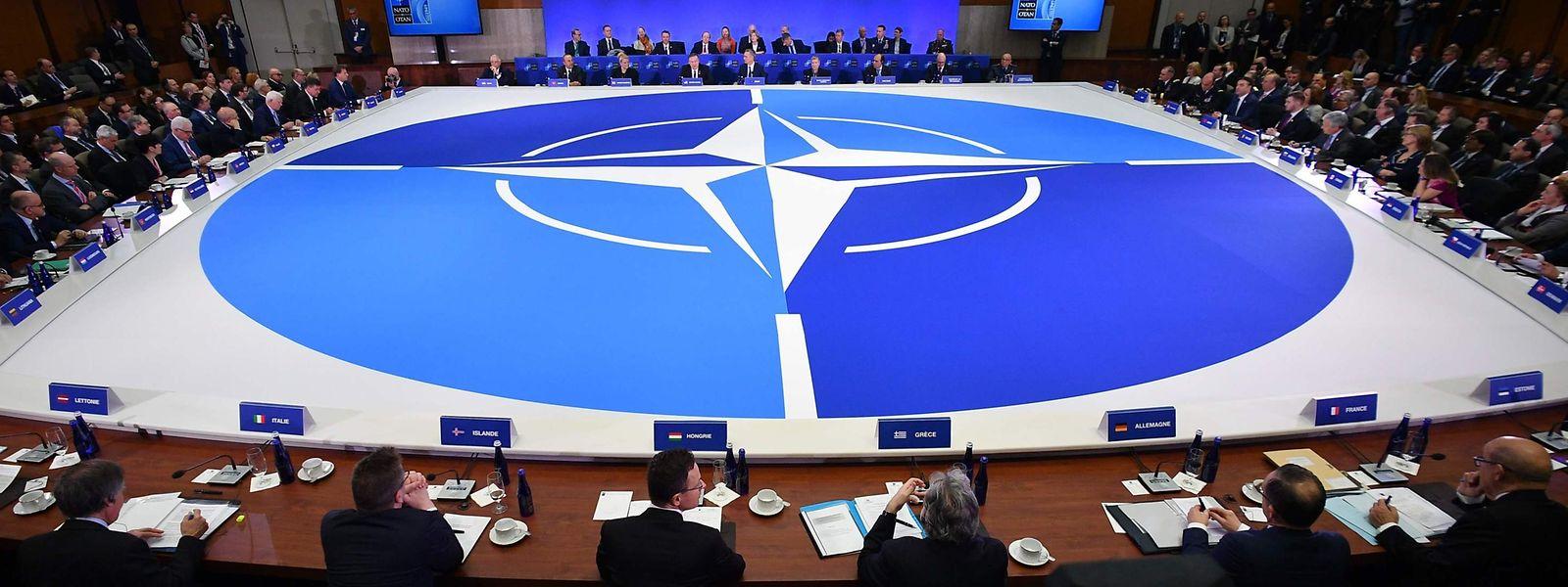 Die Nato feierte am 4. Aril 70-jähriges Bestehen.