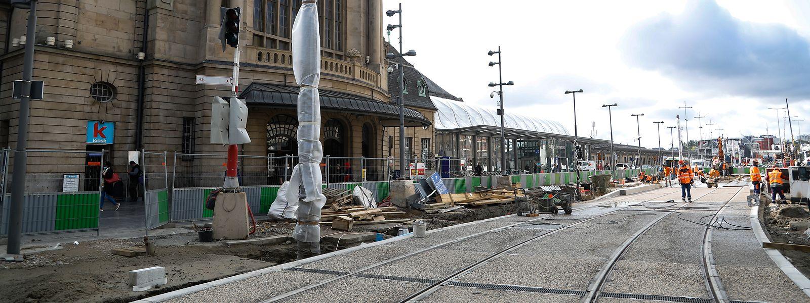Noch schaut es nicht so aus, doch Anfang Oktober könnten laut Luxtram die ersten Testfahrten stattfinden.