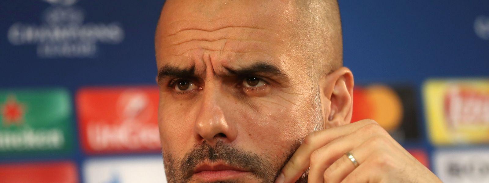 """Pep Guardiola: Erstmal musst du davon träumen, im Viertelfinale zu stehen, dann kannst du daran glauben, es zu erreichen."""""""