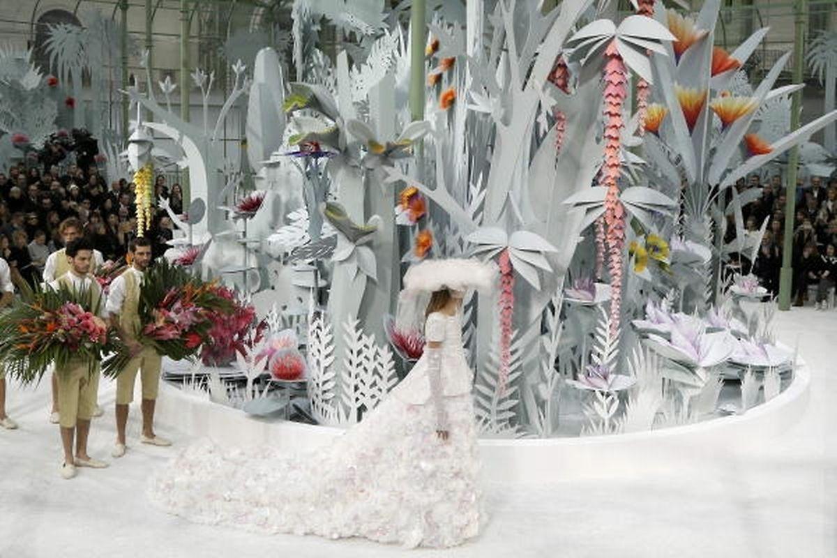 Karl Lagerfeld liebt pompöse Fashion Shows.