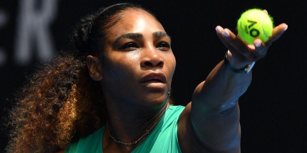 Serena Williams n'a pas musardé en chemin. L'Américaine est restée sur le court moins de 50 minutes.