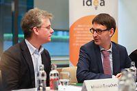 Wirtschaft. CdP.Avis annuel 2019 de la Fondation IDEA.Muriel Bouchet,Marc Wagener,Foto. Gerry Huberty/Luxemburger Wort.