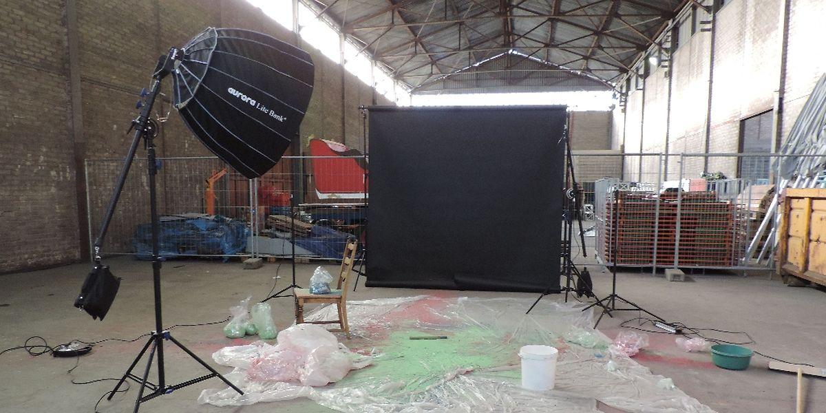 Les anciens halls du sidérurgiste sont transformés en studios créatifs.
