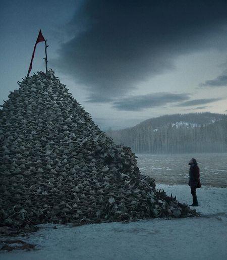 """Die ätherischen Traumsequenzen aus """"The revenant"""" scheinen geradewegs aus einem Malick-Film geborgt."""