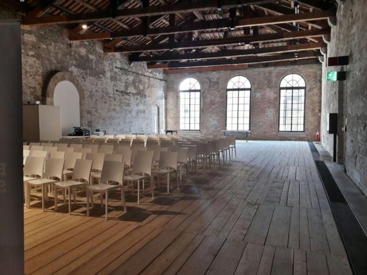 Le nouveau pavillon du Luxembourg à Venise est situé dans l'Arsenale.