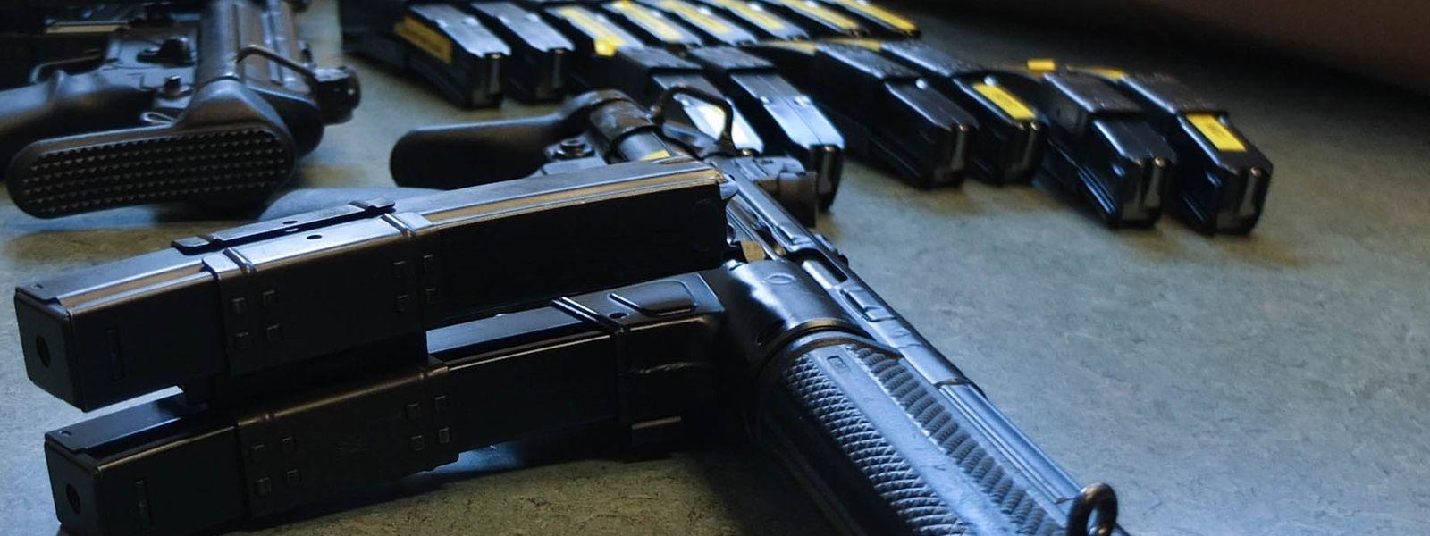 Mit dieser Maschinenpistole MP5 von Heckler & Koch ist auch die Luxemburger Polizei ausgerüstet.