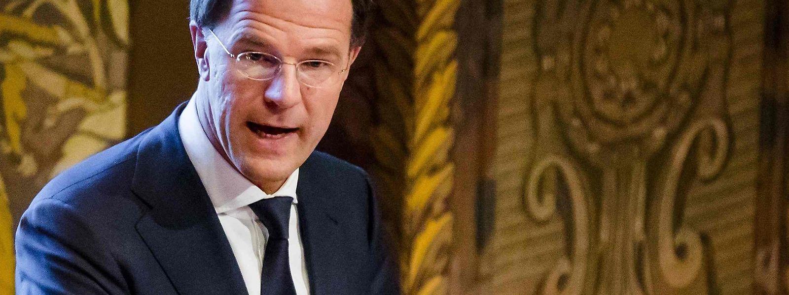Mark Rutte steht hinter der Idee einer Allianz.