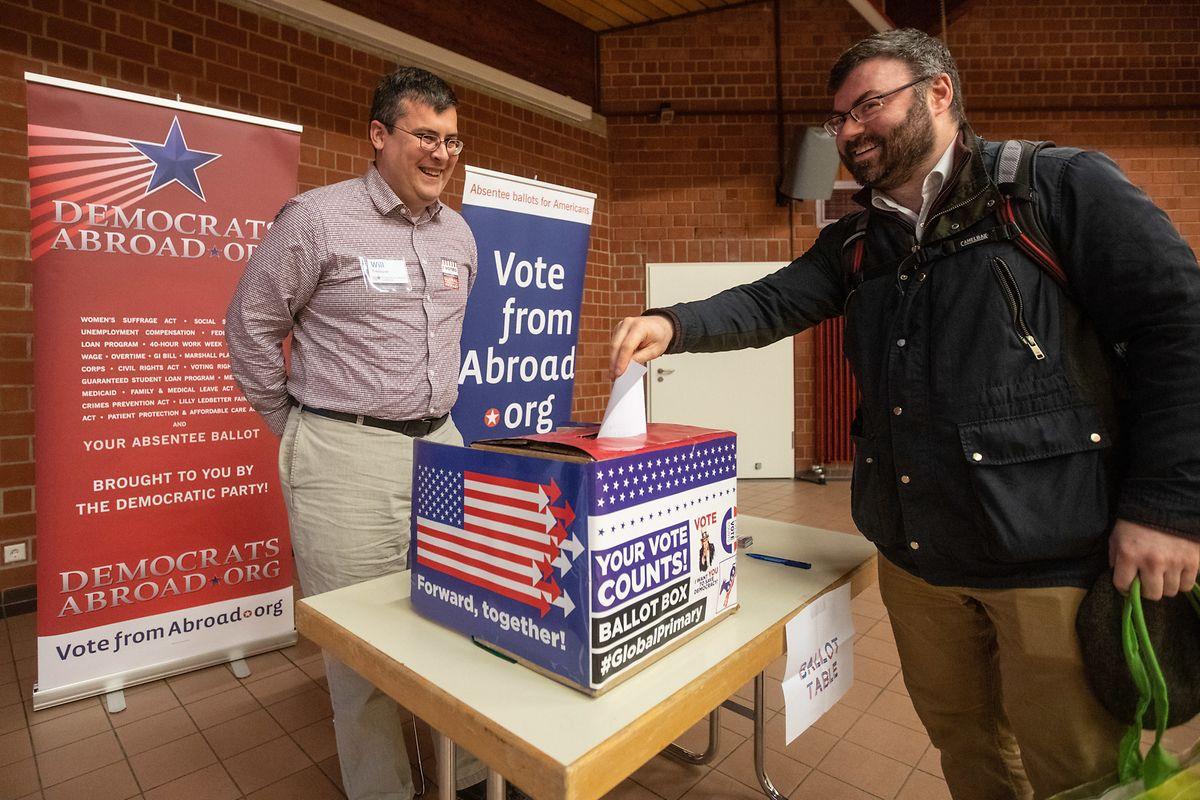 Mardi à Luxembourg, les démocrates US résidant dans le pays ont été invités à s'exprimer.