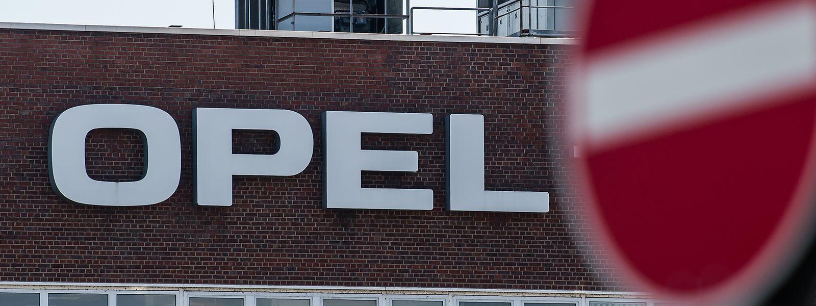 """Das """"Opel""""-Werk in Rüsselsheim."""