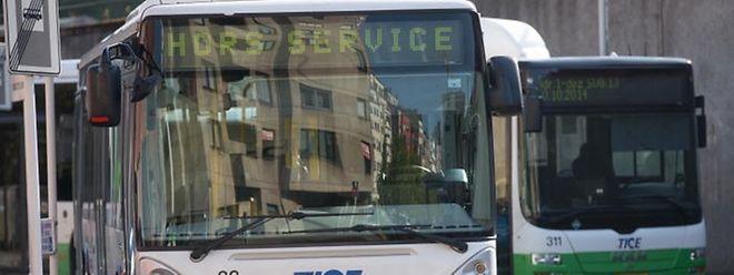 """Ab dem 9. Dezember werden die TICE-Busse erst nach 3 Uhr nachts """"hors service"""" sein."""