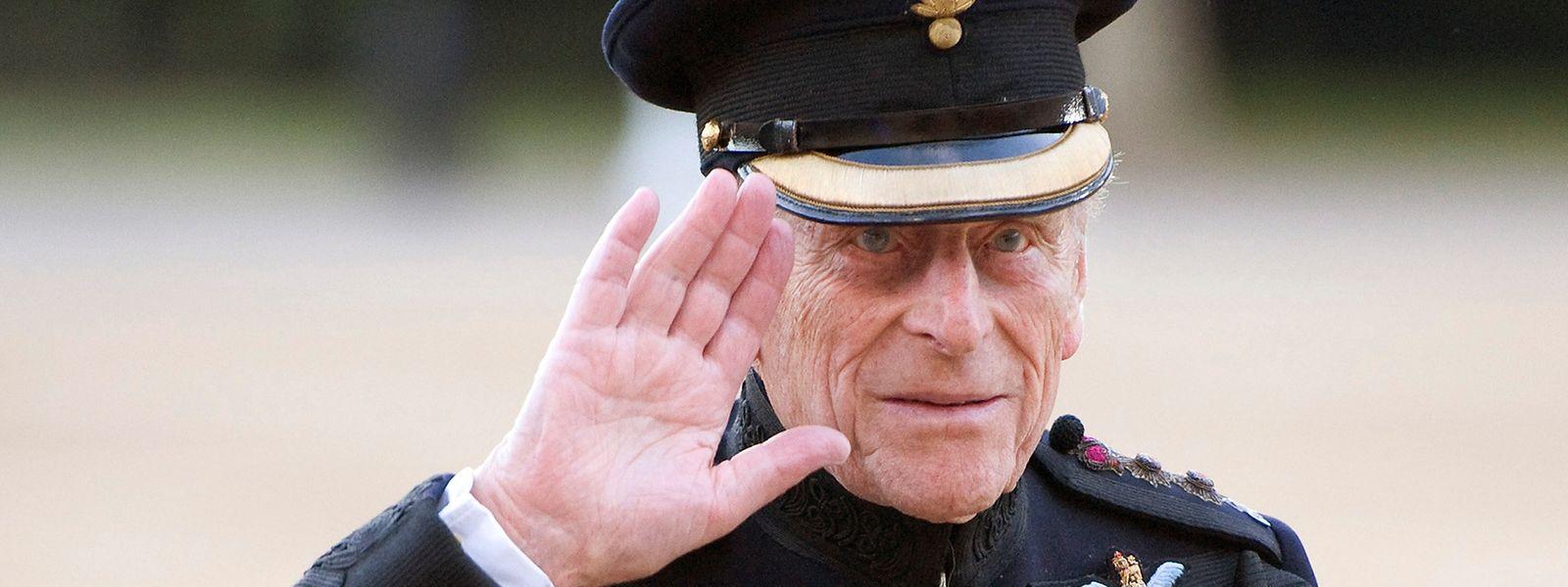 Prinz Philip feiert am Samstag seinen 96. Geburtstag.