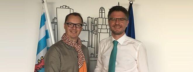 Pascal Steichen pour Securitymadein.lu et Benoît Poletti pour Incert ont décidé d'unir leurs forces