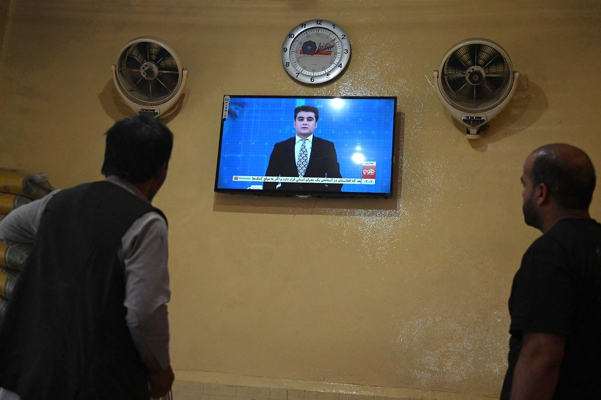 The Taliban had pledged Tolo could continue its programming, said the channel's founder Saad Mohseni, but out of caution he has already pulled some Turkish soap operas and music videos off air