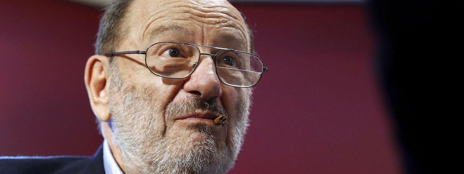Umberto Eco war am Freitag vor einer Woche im Alter von 84 Jahren in Mailand gestorben.
