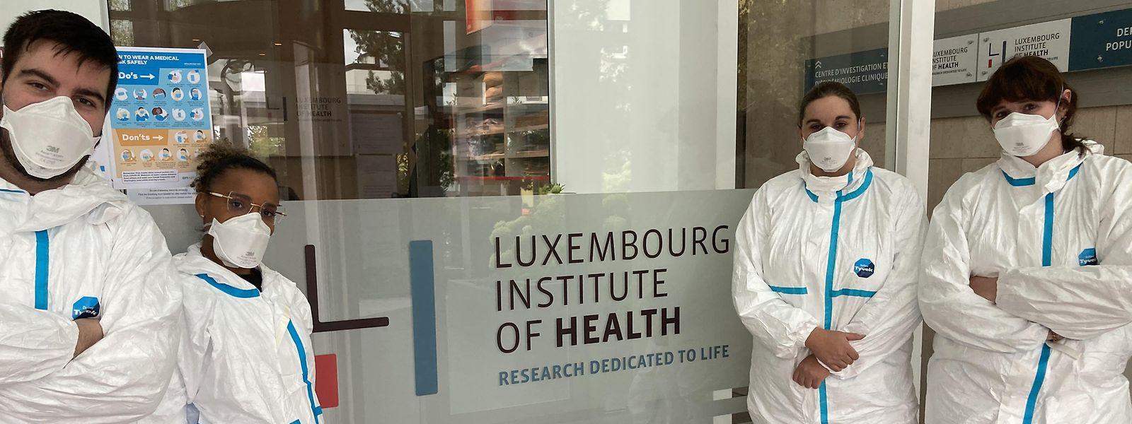 L'équipe du LIH a déjà convaincu 604 volontaires touchés par le covid-19 à participer à son étude.