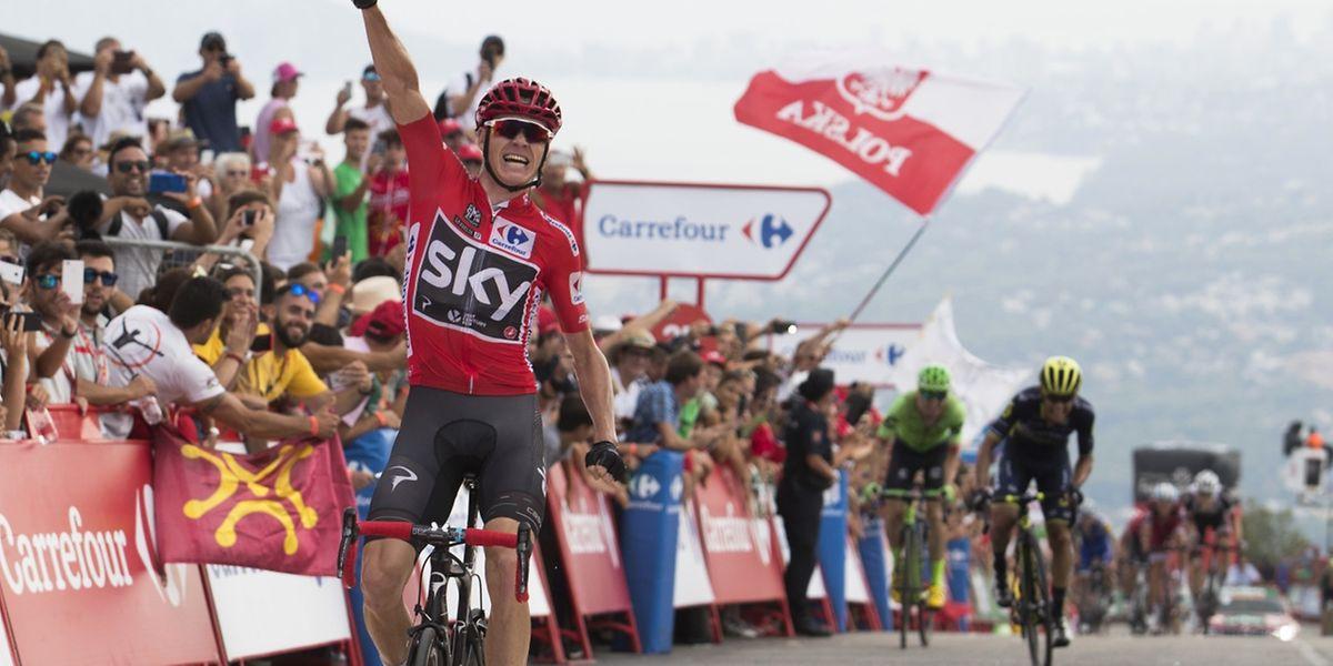 Chris Froome a concrétisé un nouveau travail impressionnant de son équipe pour s'imposer et assommer un peu plus la Vuelta.