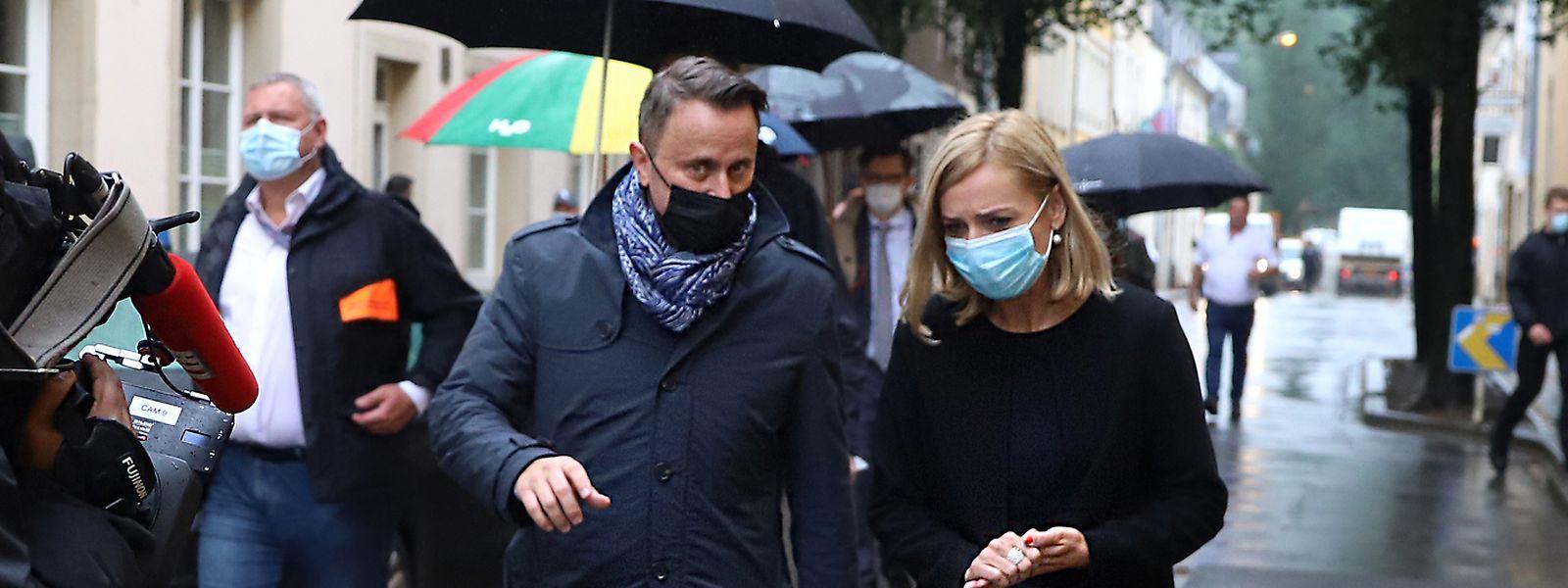 Le Premier ministre et la ministre de l'Intérieur ont rendu visite aux sinistrés du Grund et d'Echternach, particulièrement touchés par les intempéries.