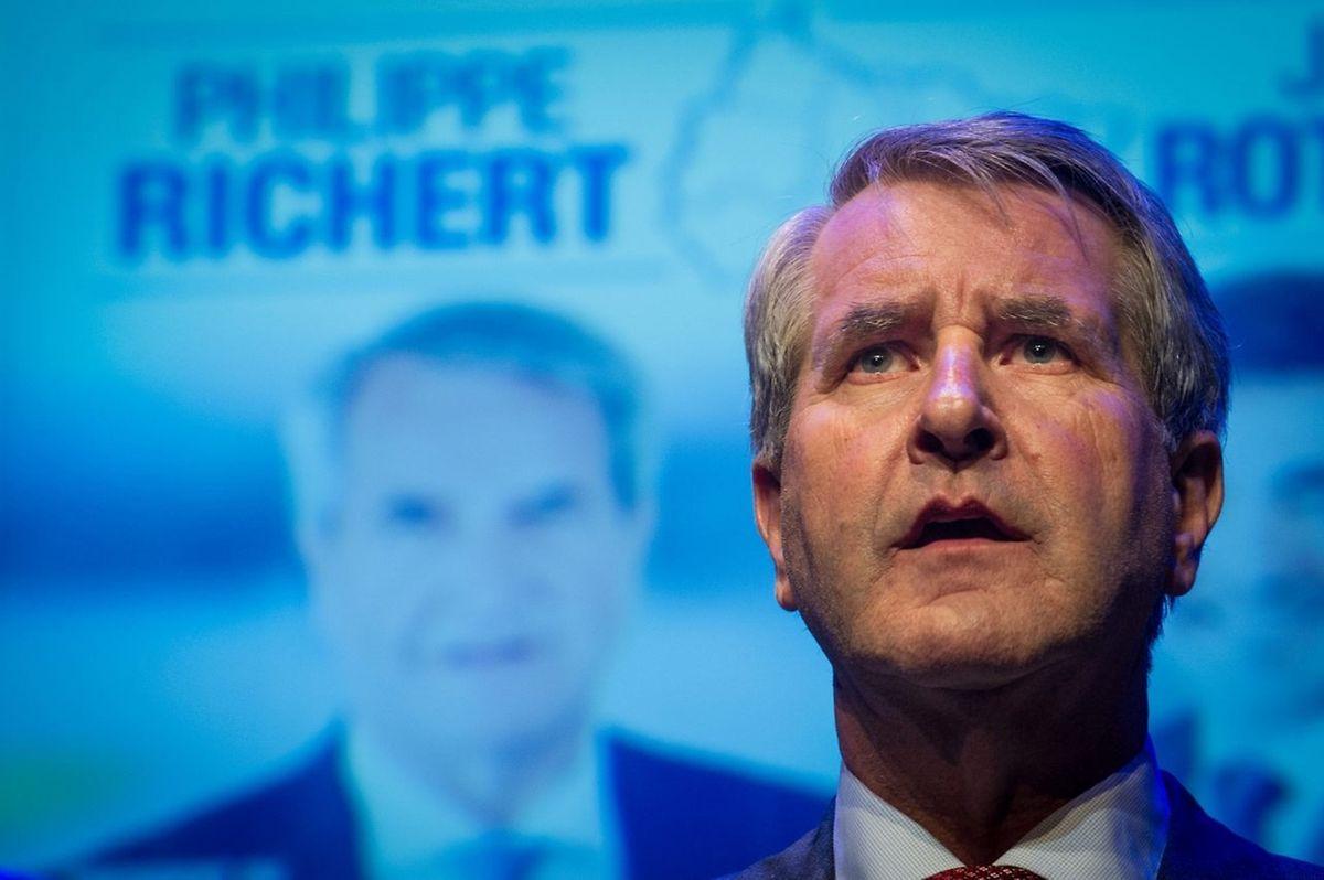 Philippe Richert, Präsident der Region ACAL (Alsace Champagne Ardenne Lorraine).