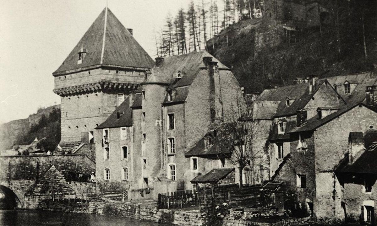 Le Pfaffenthal au 19ème siècle.